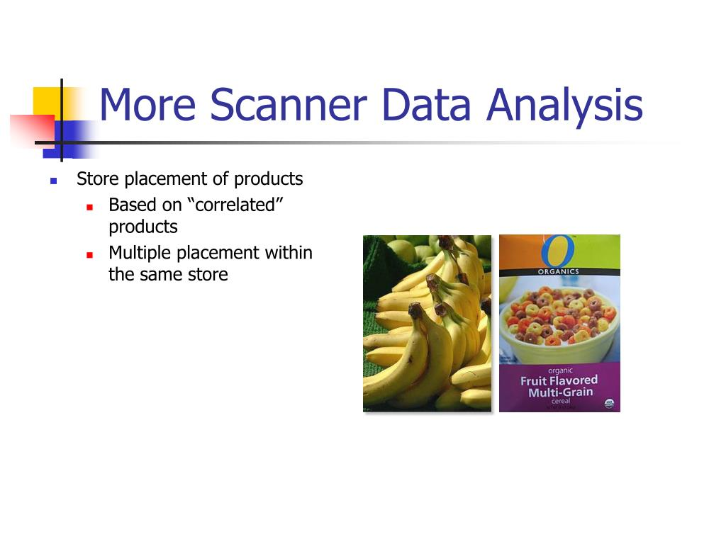 More Scanner Data Analysis