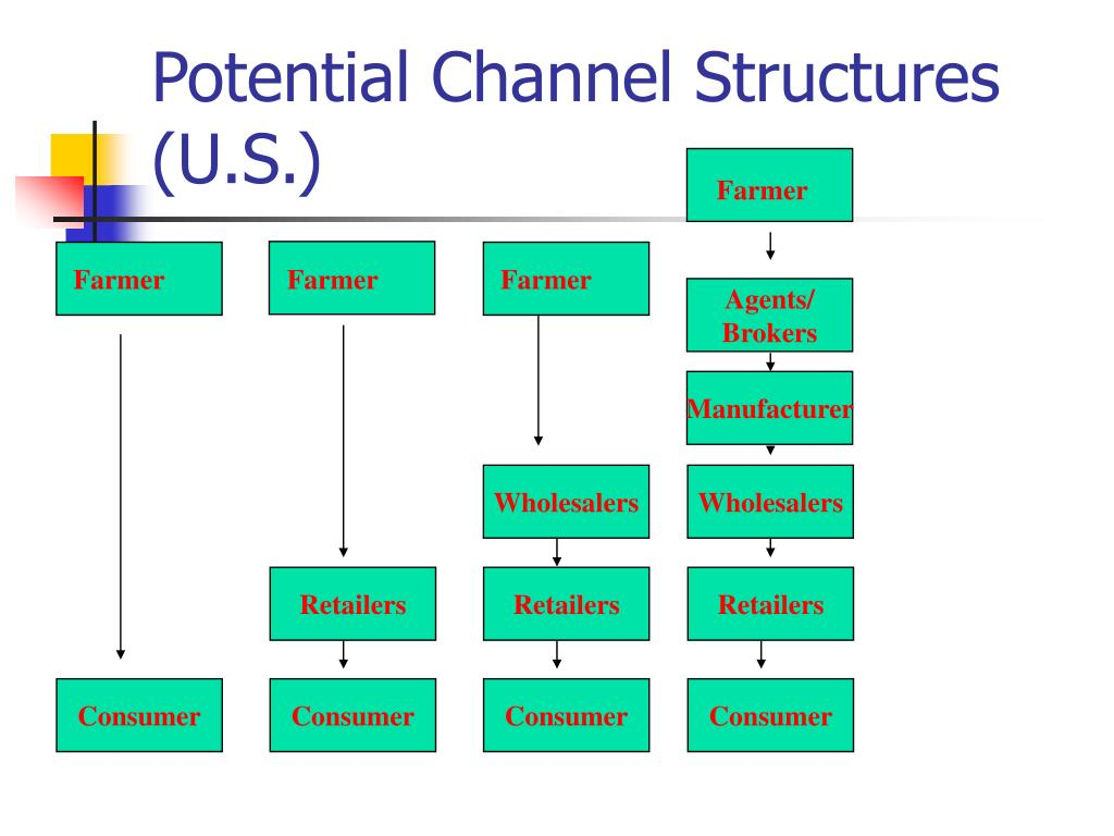 Potential Channel Structures (U.S.)