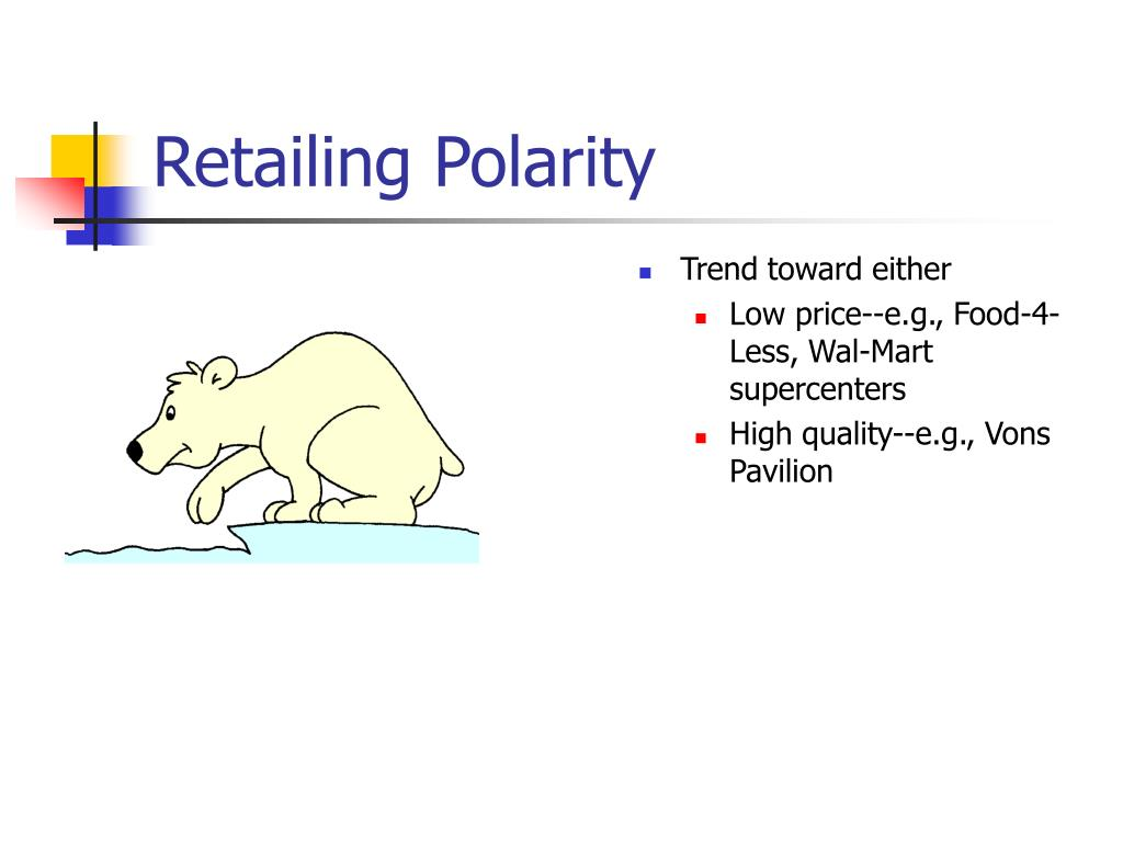 Retailing Polarity