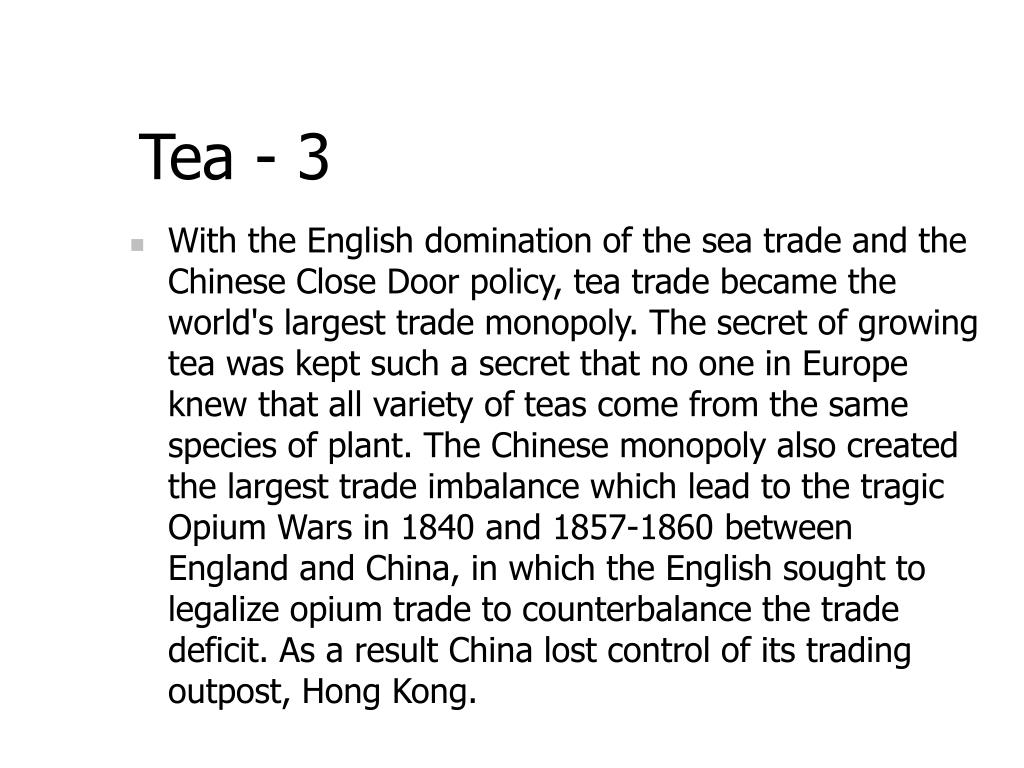 Tea - 3
