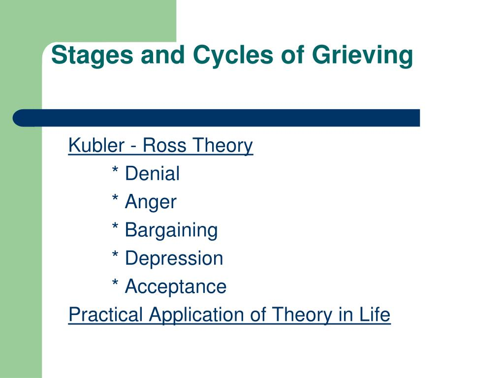 Stages and Cycles of Grieving