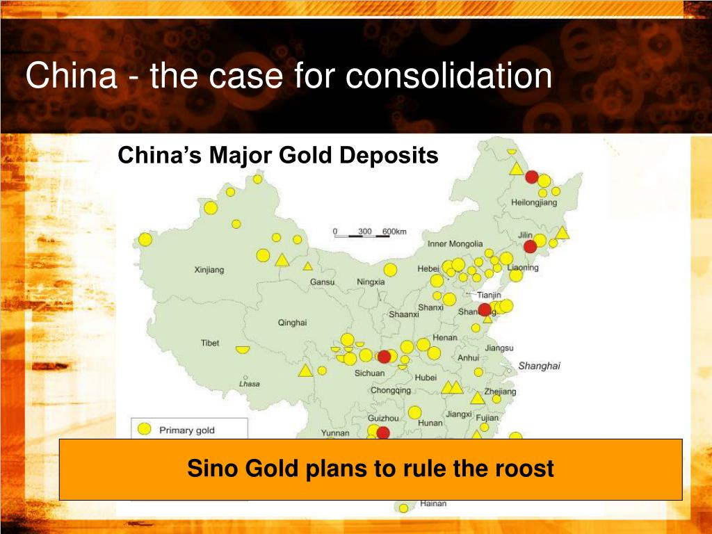 China's Major Gold Deposits