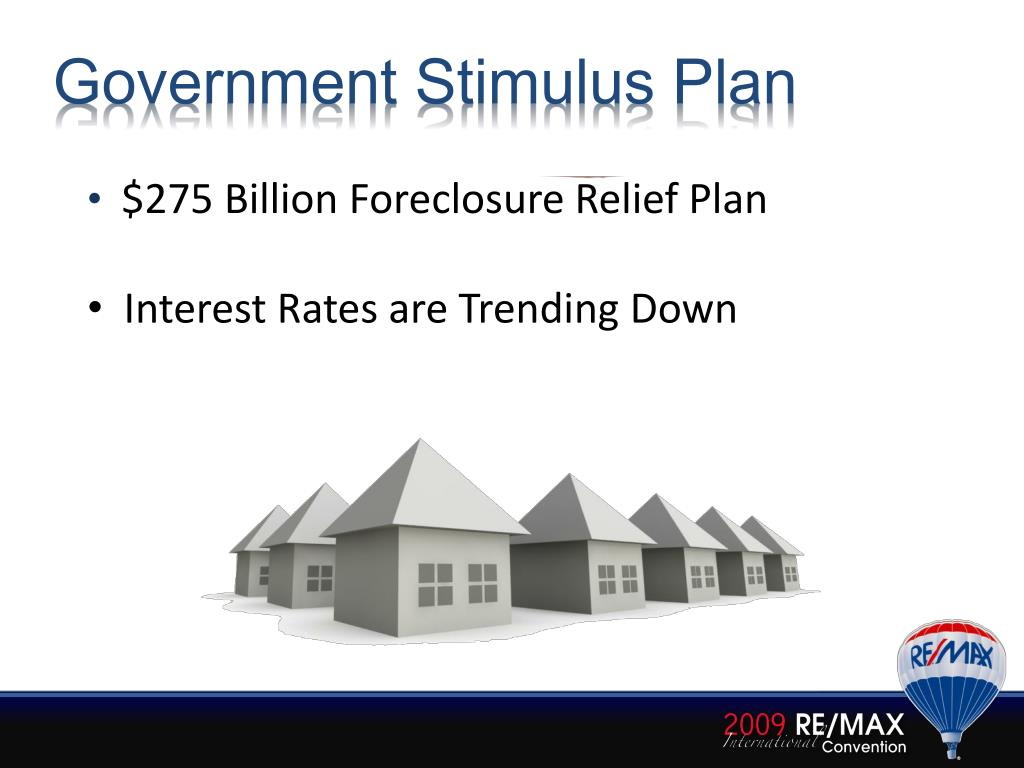 Government Stimulus Plan
