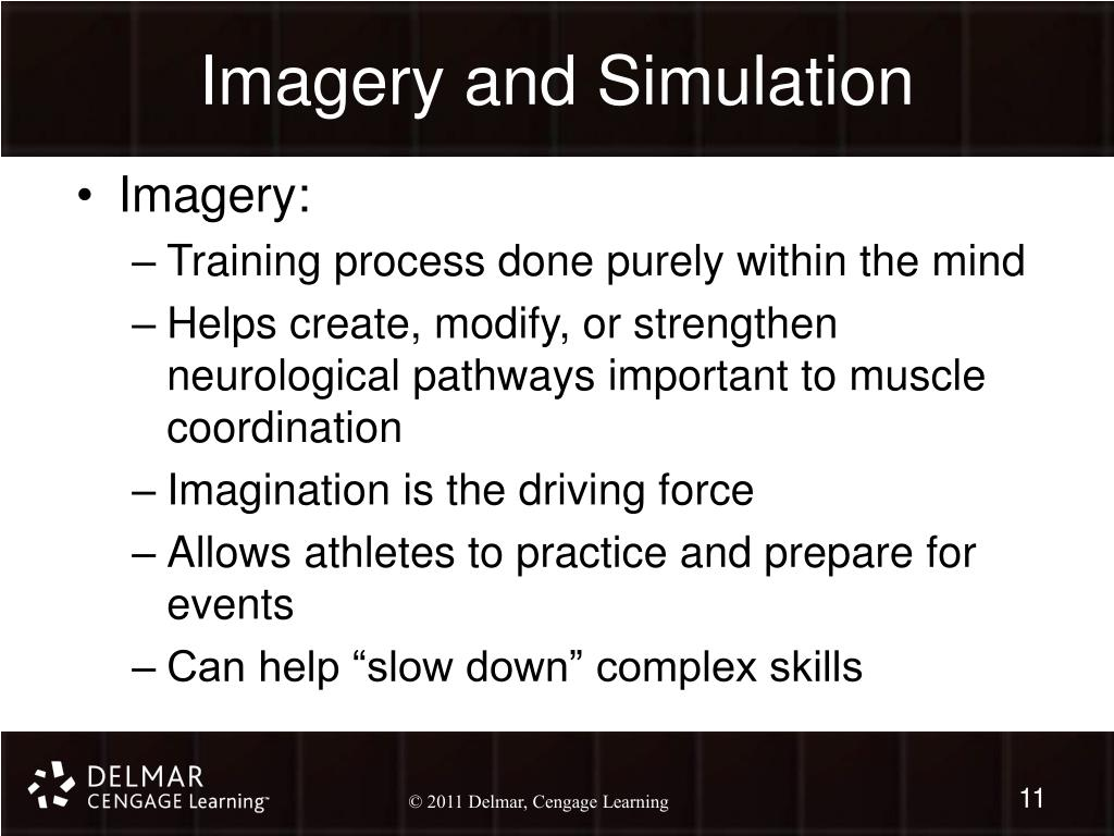 Imagery and Simulation