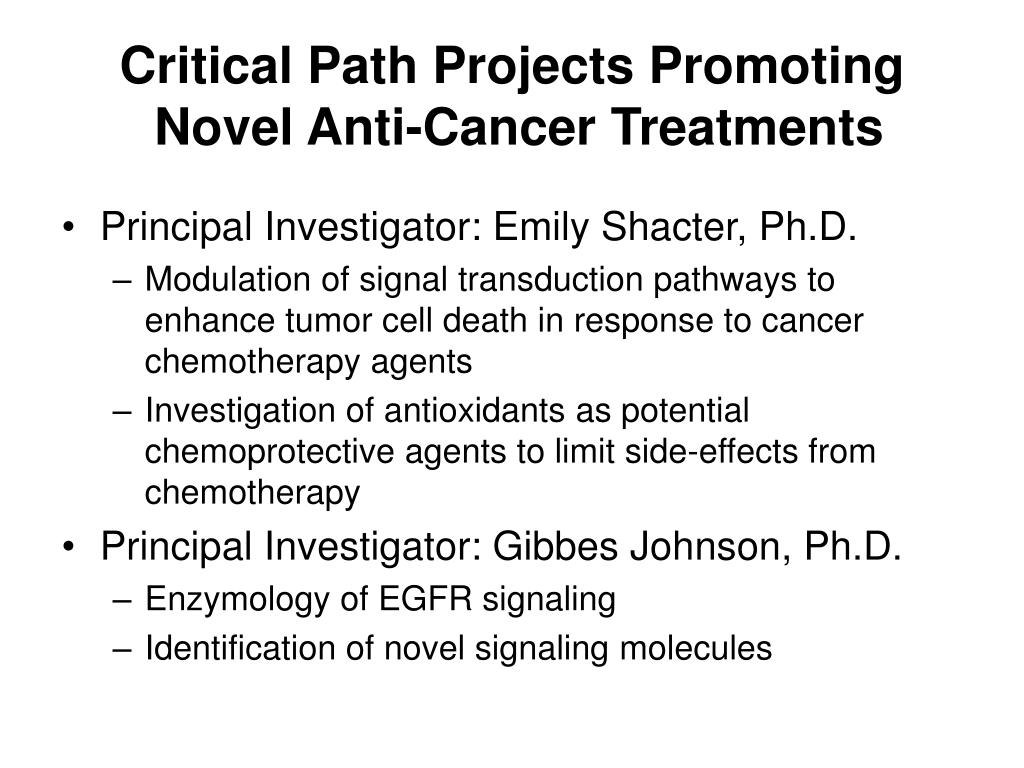 Critical Path Projects Promoting