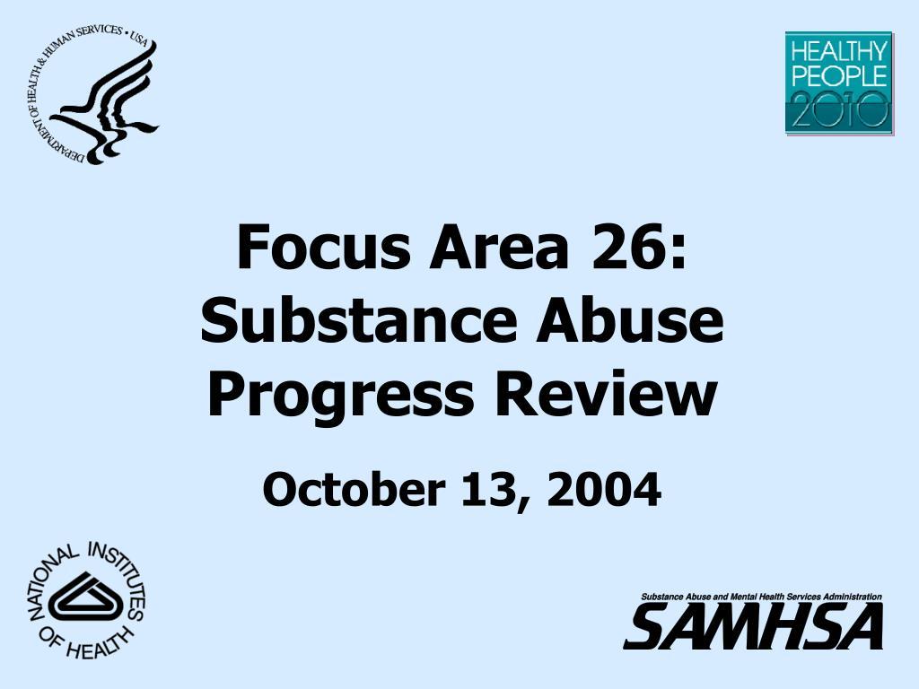 Focus Area 26: