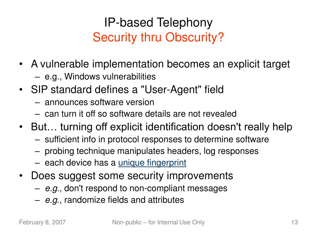 IP-based Telephony