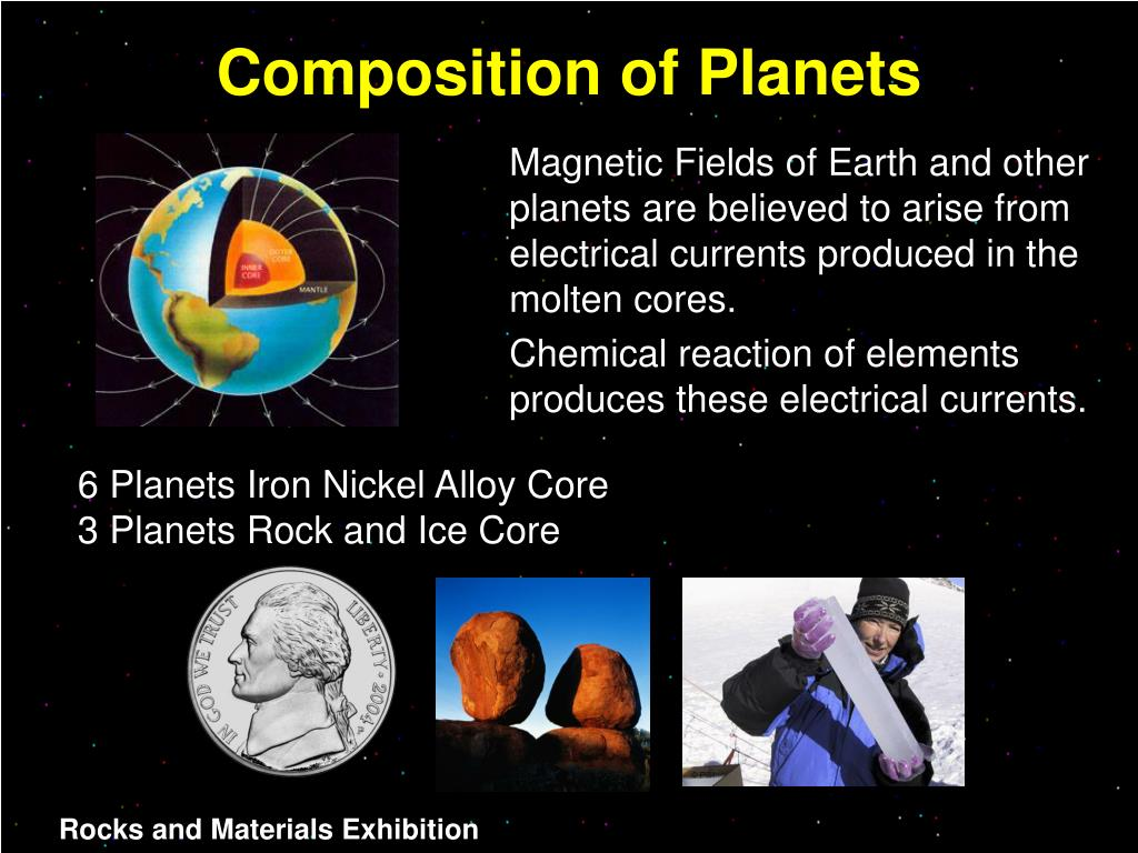 Composition of Planets