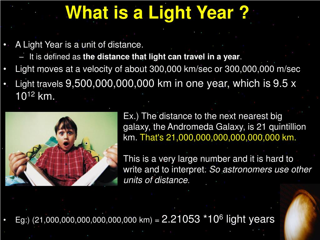 What is a Light Year ?