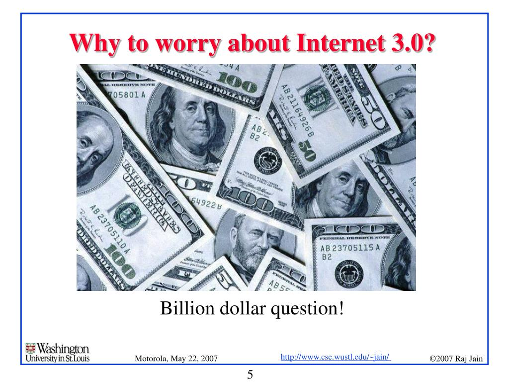 Why to worry about Internet 3.0?