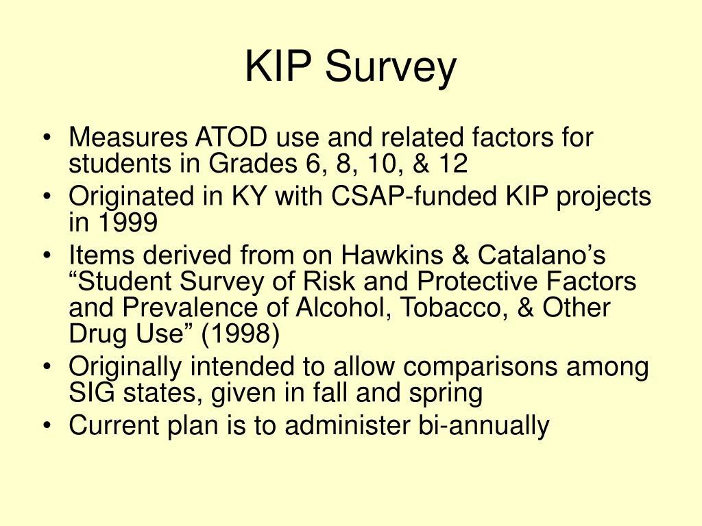 KIP Survey