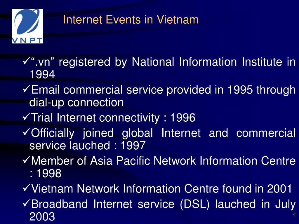 Internet Events in Vietnam