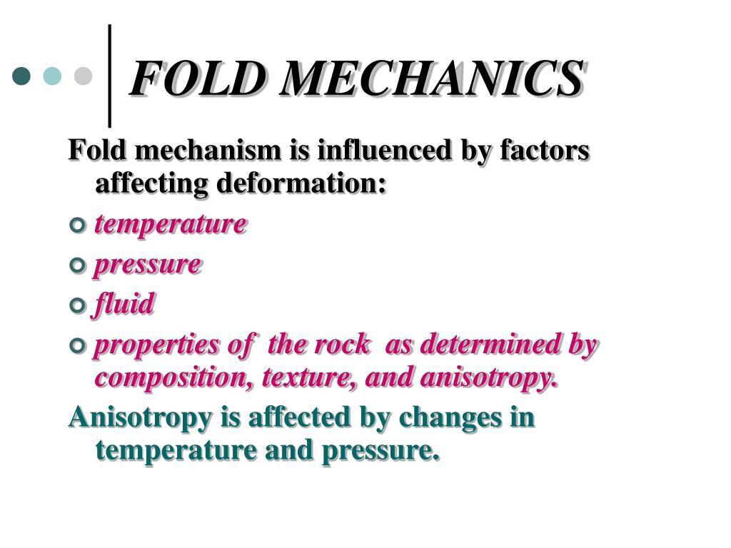 FOLD MECHANICS