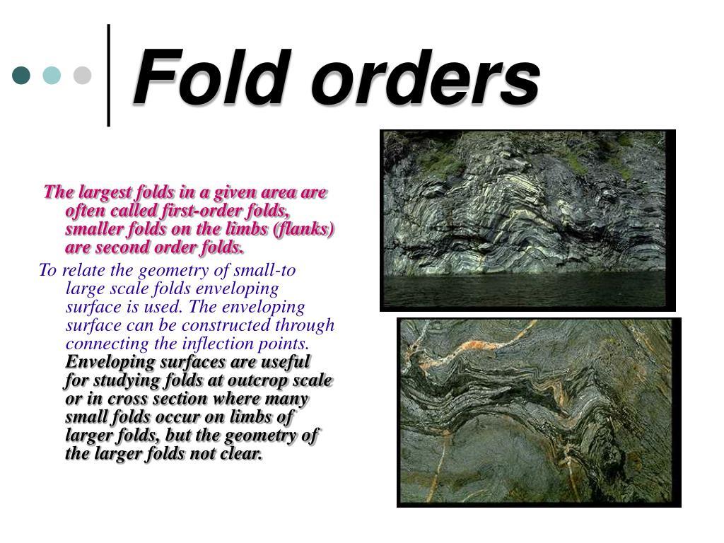 Fold orders