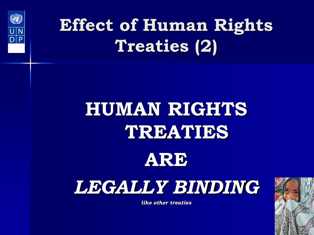 Effect of Human Rights Treaties (2)