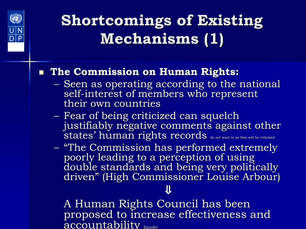 Shortcomings of Existing Mechanisms (1)