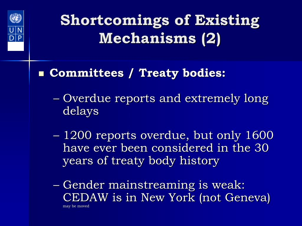 Shortcomings of Existing Mechanisms (2)
