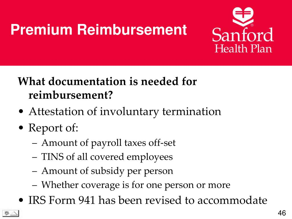 Premium Reimbursement