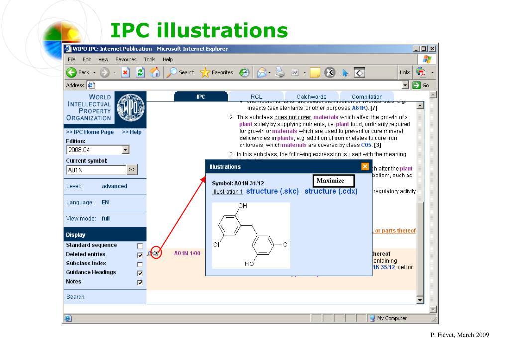 IPC illustrations
