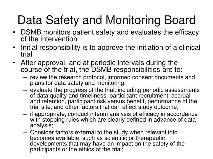 Data Safety and Monitoring Board