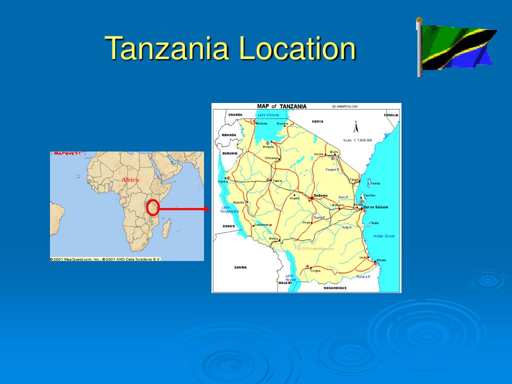 Tanzania Location
