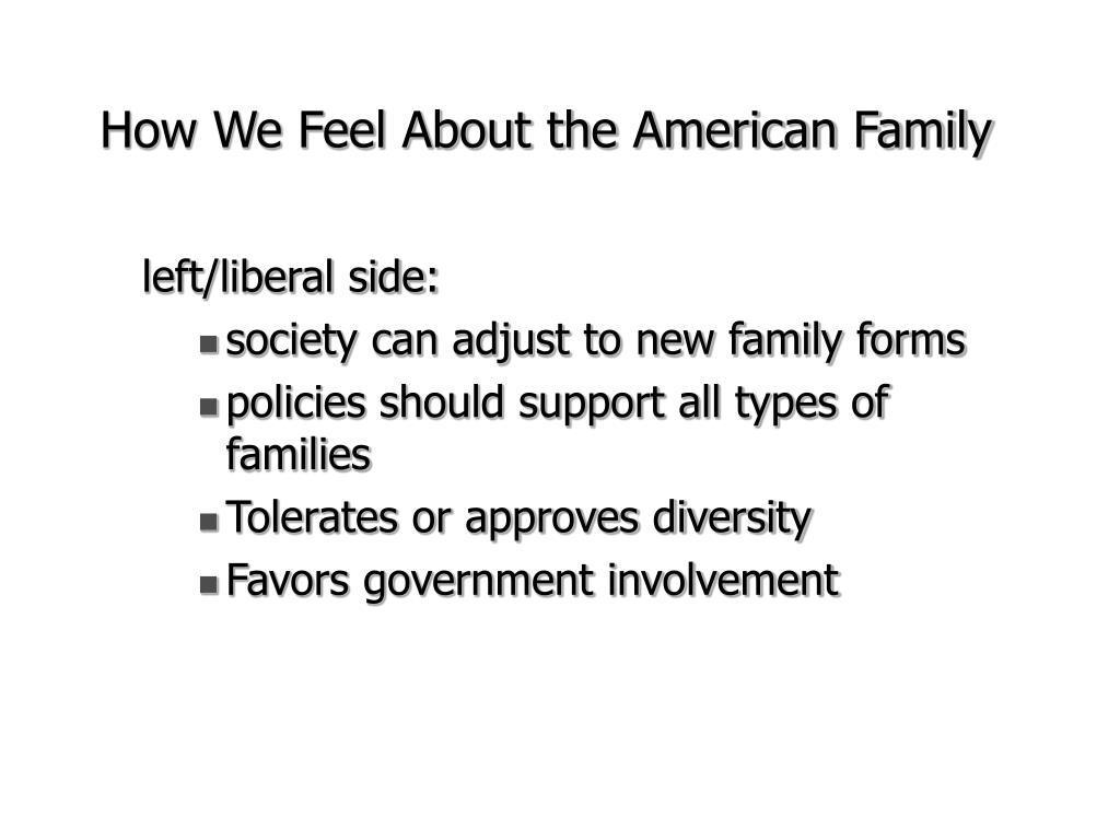 left/liberal side: