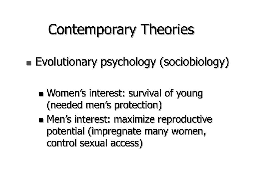 Evolutionary psychology (sociobiology)