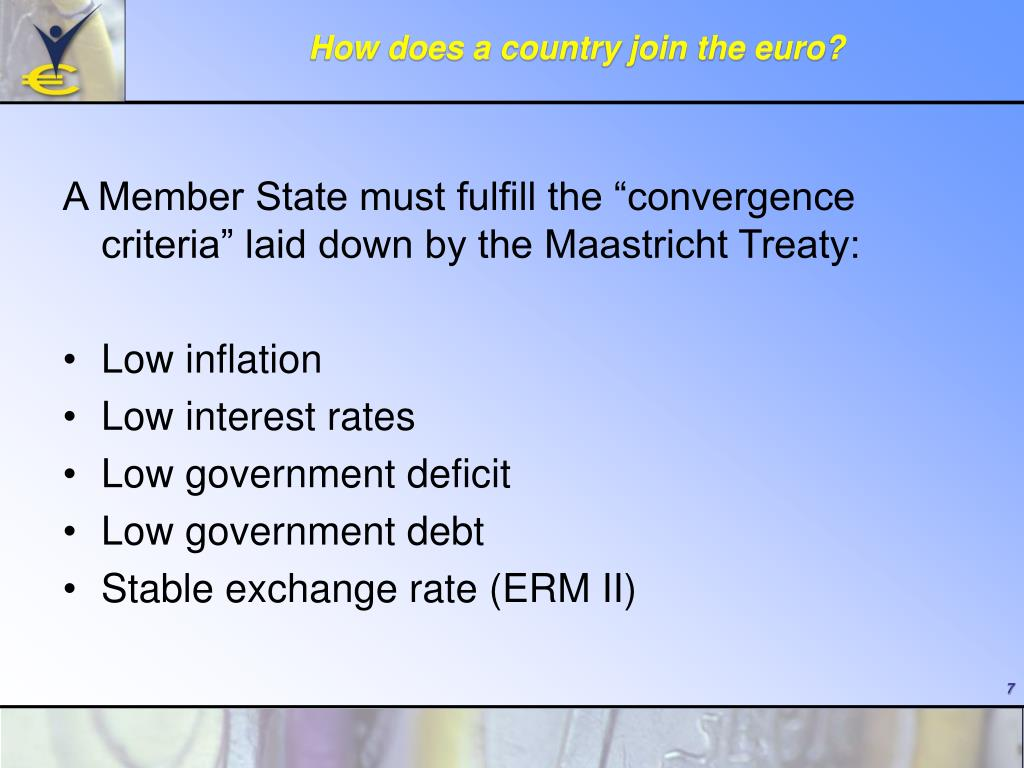 How does a country join the euro?