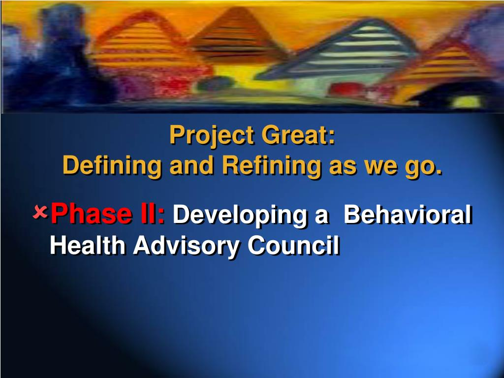 Project Great: