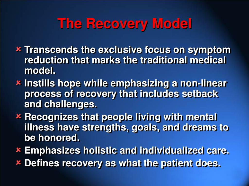The Recovery Model