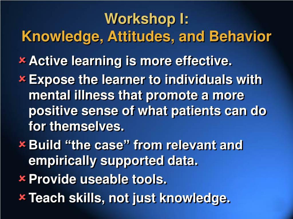 Workshop I: