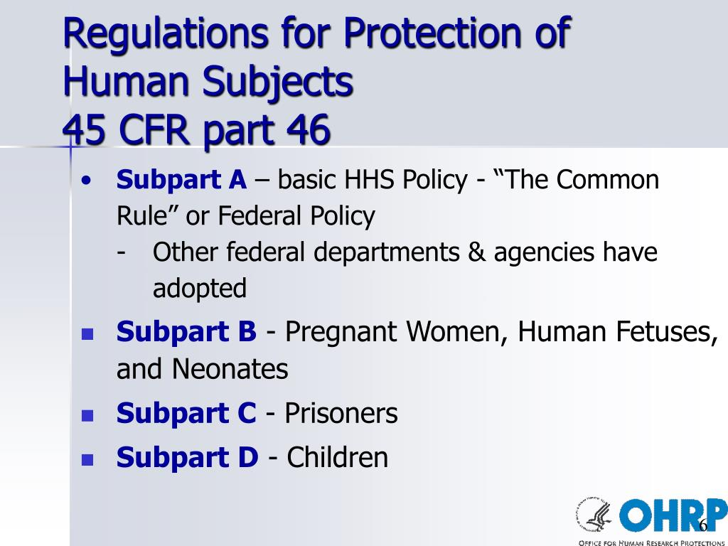 Regulations for Protection of