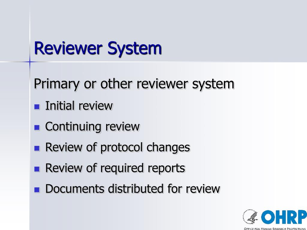 Reviewer System