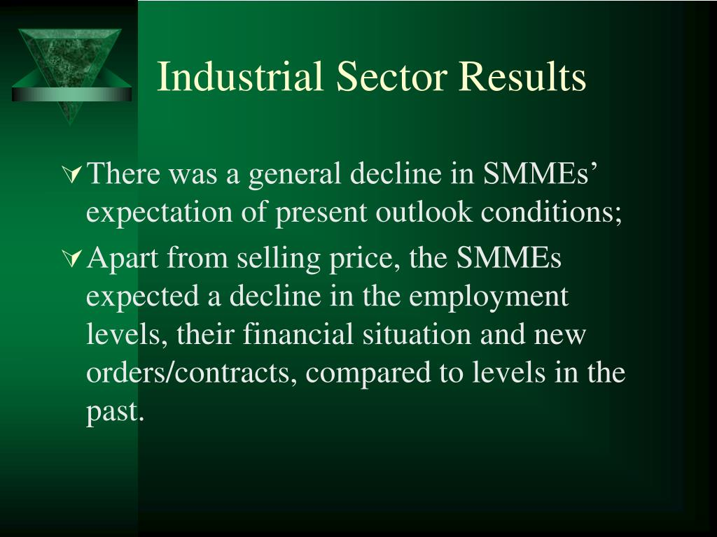 Industrial Sector Results