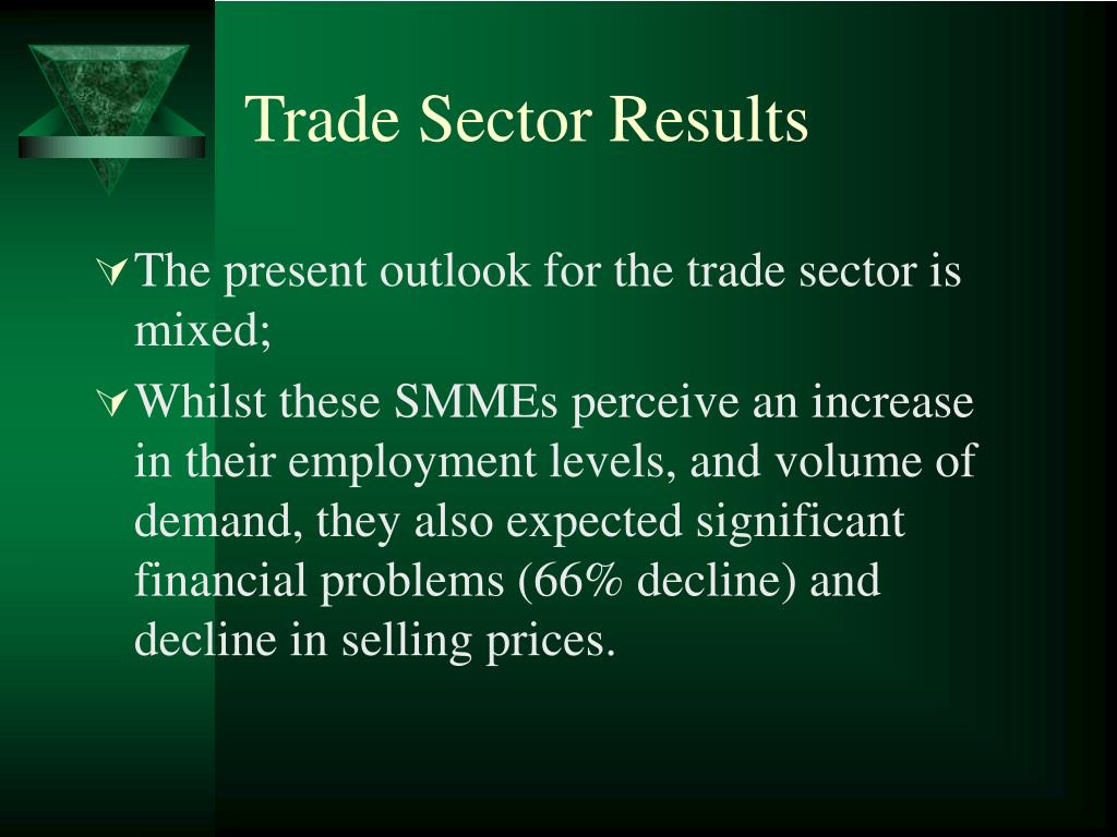 Trade Sector Results