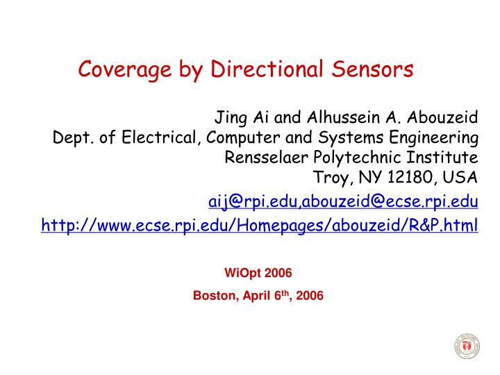 Coverage by directional sensors l.jpg