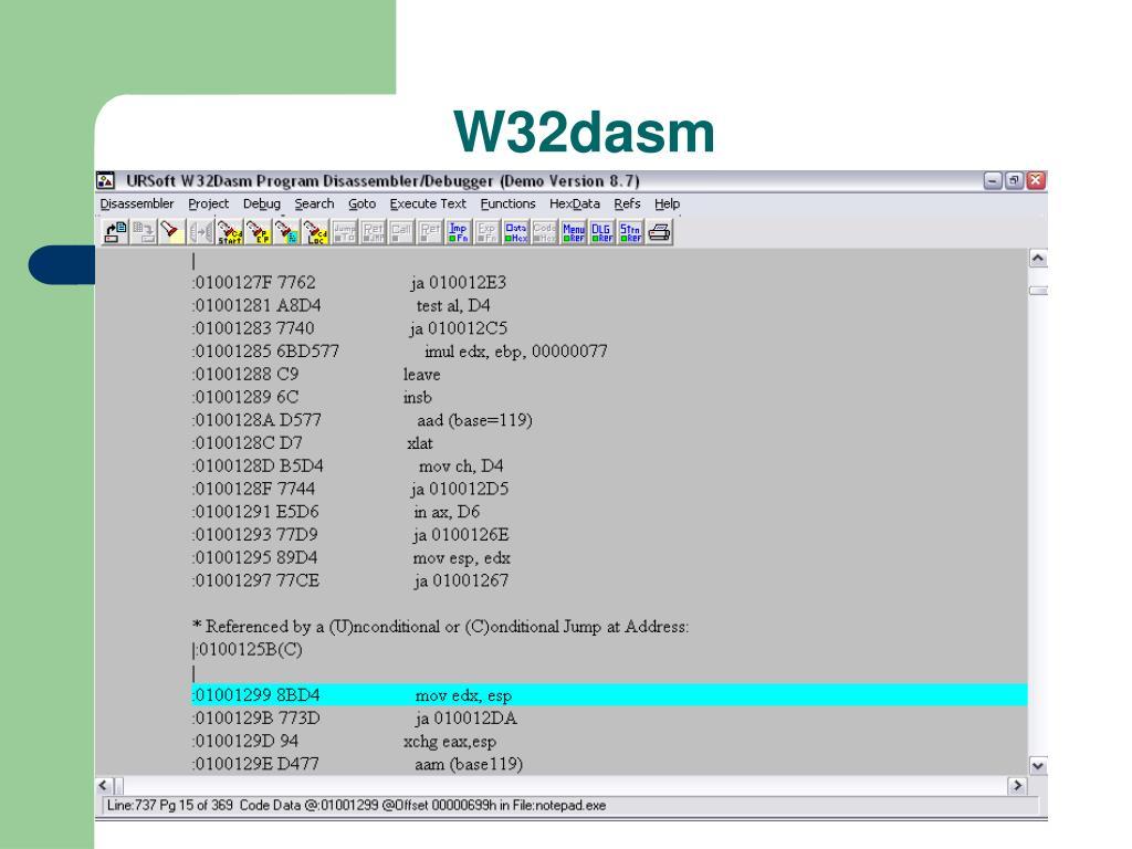 W32dasm