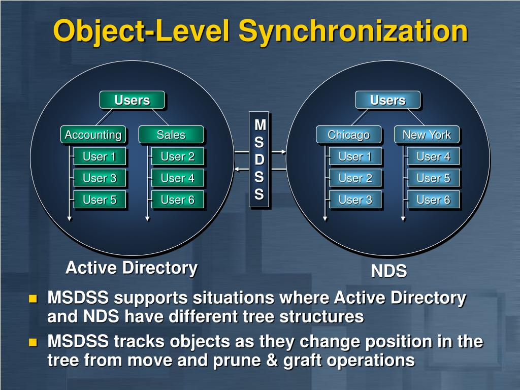 Object-Level Synchronization