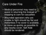 care under fire13