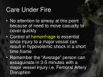 care under fire14