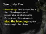 care under fire16