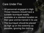 care under fire18