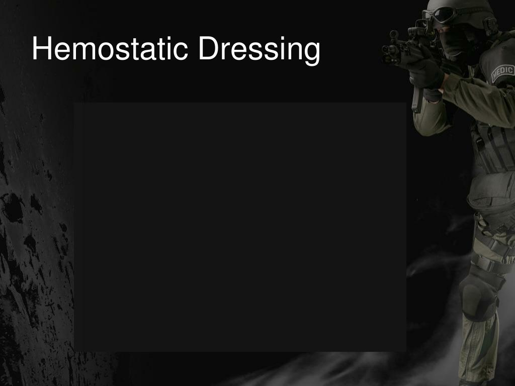 Hemostatic Dressing