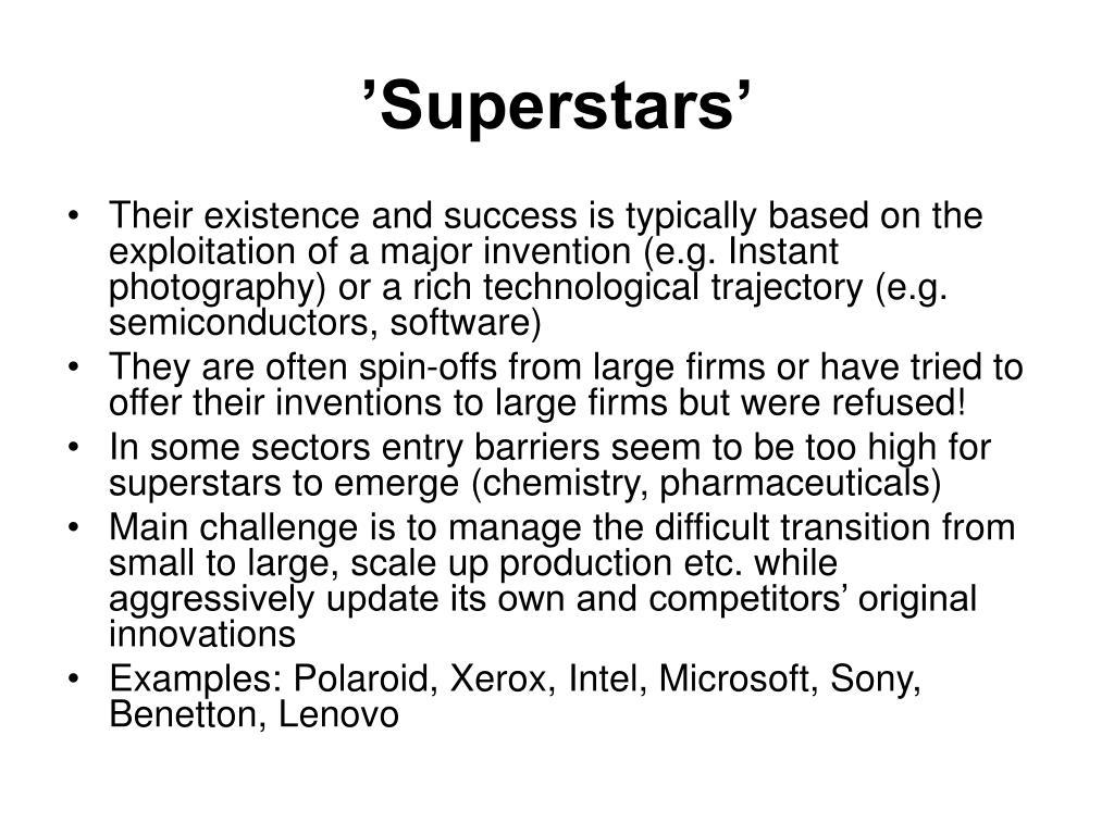 'Superstars'