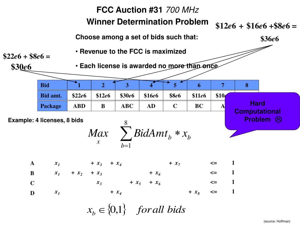 FCC Auction #31