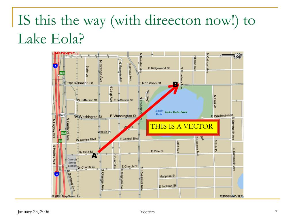 IS this the way (with direecton now!) to Lake Eola?