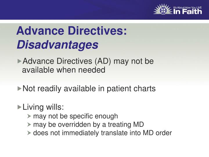 Advance Directives:
