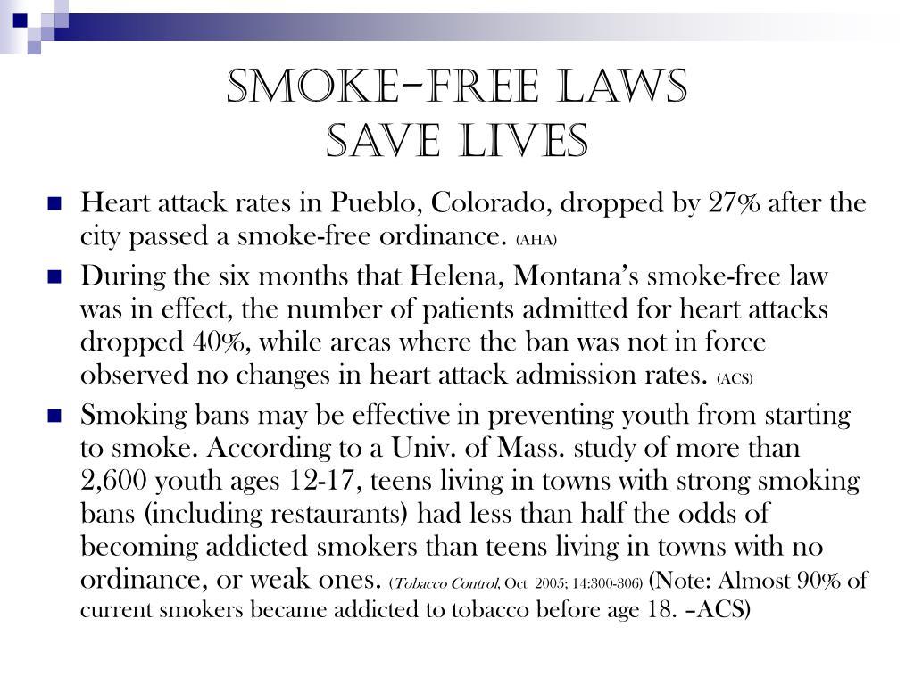 Smoke-free laws