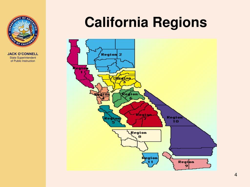 California Regions