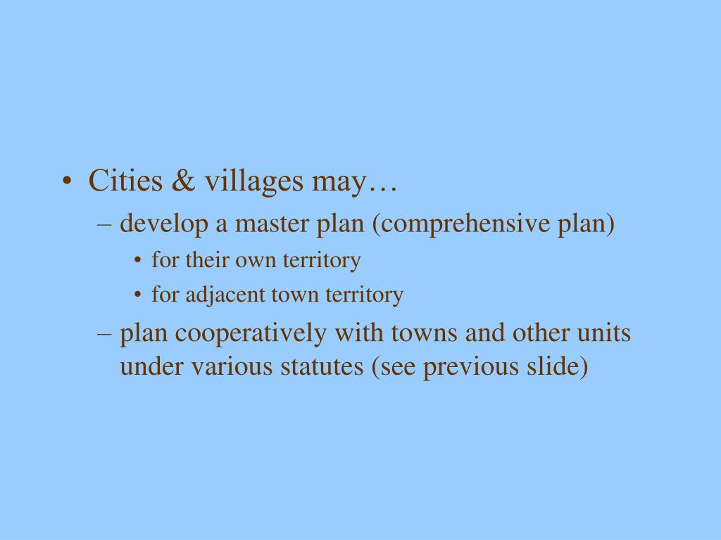 Cities & villages may…